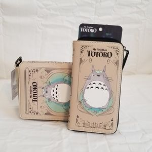 Loungefly My Neighbor Totoro Book Bag and Wallet